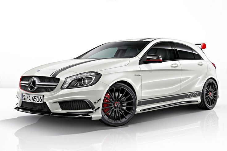 Don't like Benz usually but this one: Aie Aie Aie   Mercedes-Benz A45 AMG Edition 1