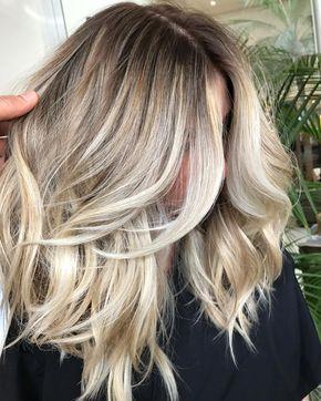 Diese Haarfarbe ist wunderschön. Ein frisches, k….