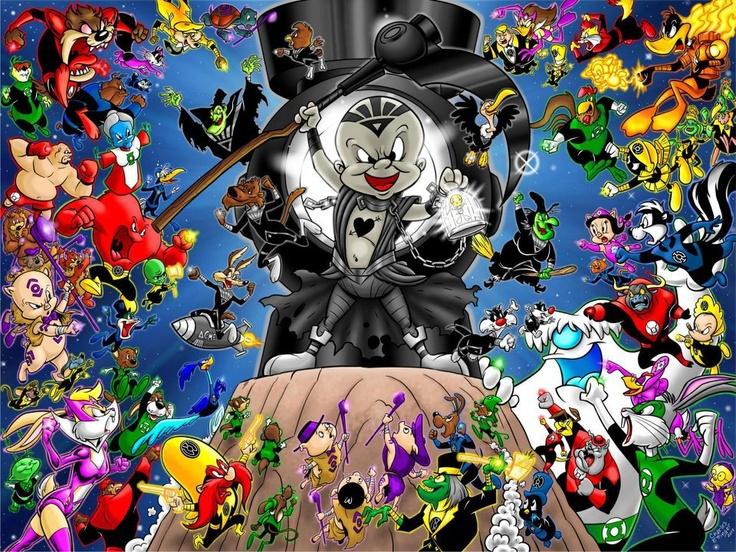 Words Can Not Express How Cool This Is: Book Art, Book Stuff, Gween Wantern, Looney Tunes, Cartoon Stuff, Comic Book, Blackest Night, Bwackest Night, Green Lanterns