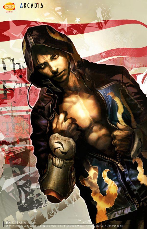 Jin Kazama, Tekken