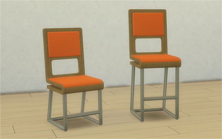 Veranka's TS4 Downloads | Gambles Folded Bar Stool and Chair Bar Stool...