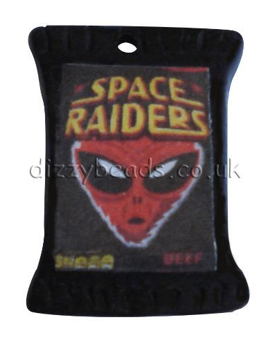 Fimo crisps charms - Space Raiders