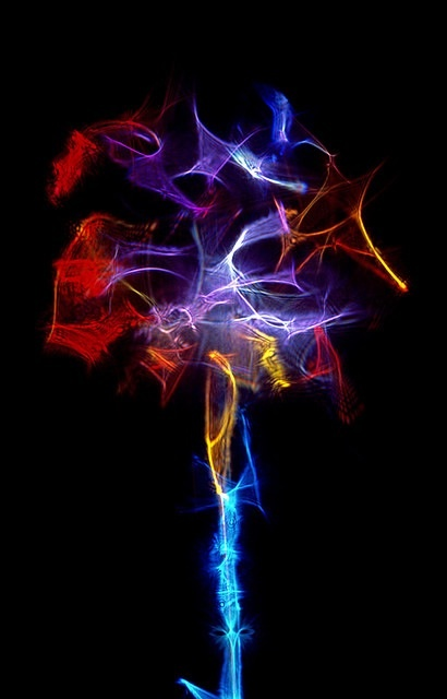 Our consciousness is and can be seen as a beam of dancing light...
