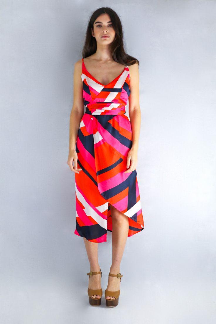 Cocktail Dress in Crosshatch