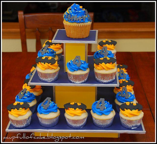 Batman Cupcakes | Flickr - Photo Sharing!