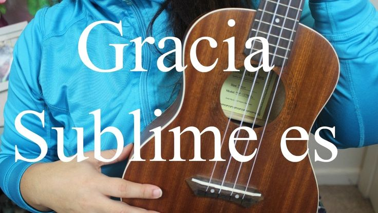 Evan Craft: Gracia Sublime es Ukulele tutorial - Ukulevita