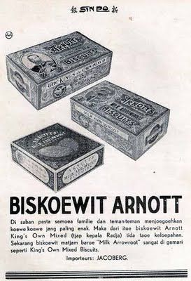 Indonesian Old Commercials: BISKOEWIT ARNOTT (biscuit)