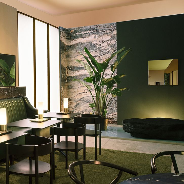 There's lots of green on show in this image from @wallpapermag featuring our View mirror.
