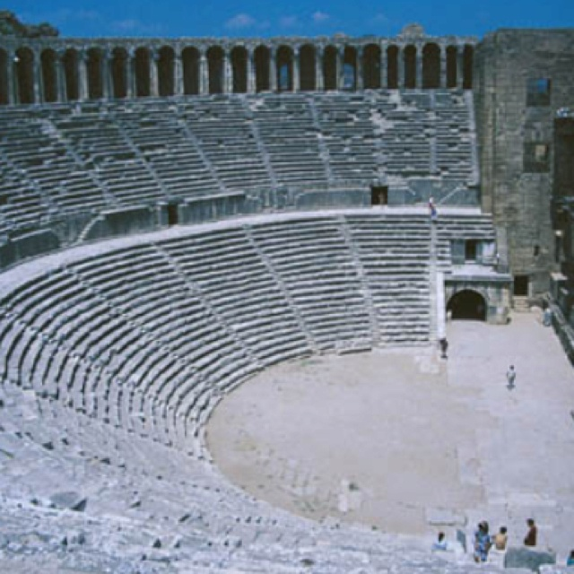 Aspendos theatre, Antalya Turkey