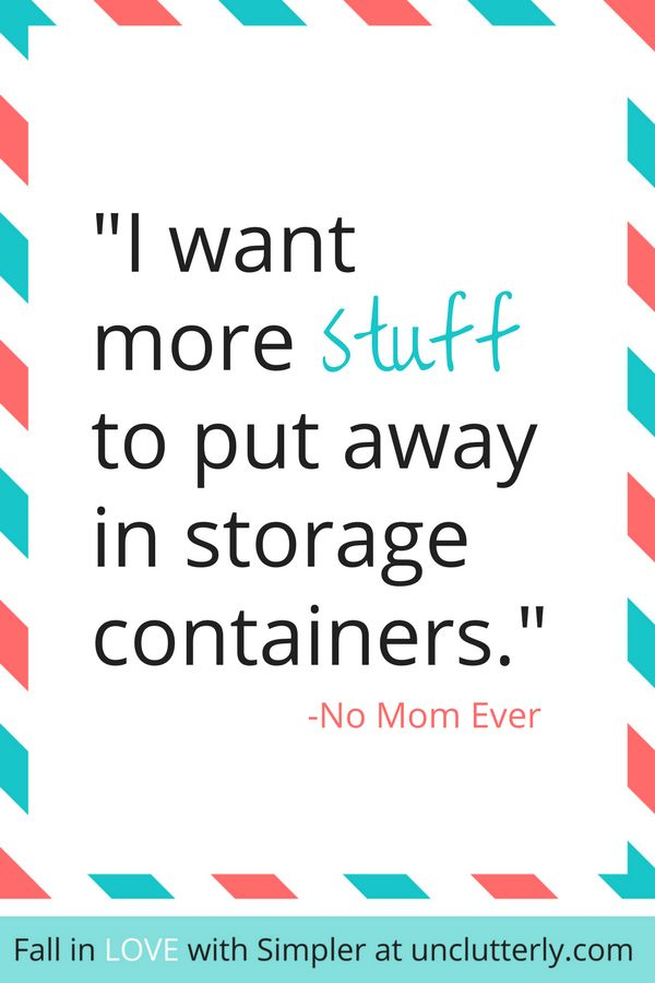 Not sure where a busy Mom like you can start when it comes to clutter? Start with these 3 easy things to unclutter...