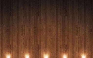 木材、下よりライト