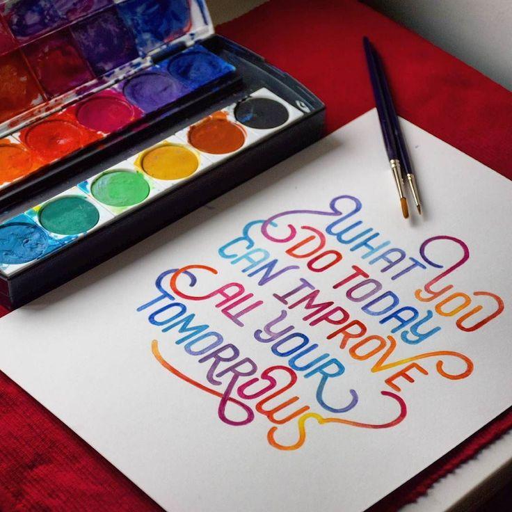 """What you do today..."" by Jimbo Bernaus"