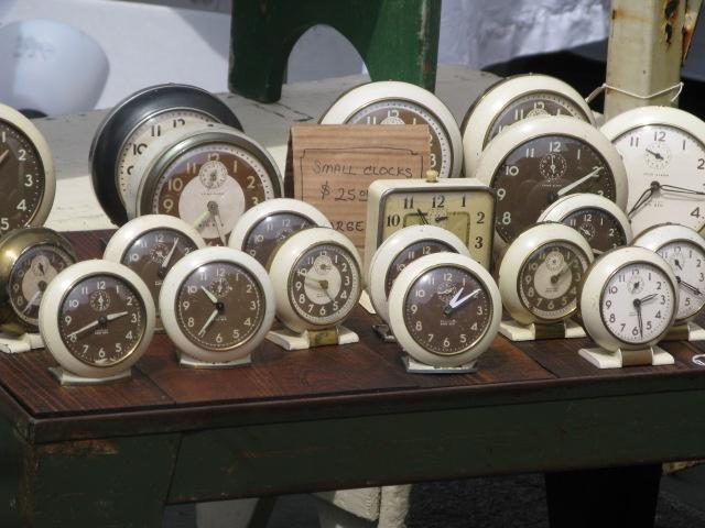 Clocks at a Brooklyn Flea