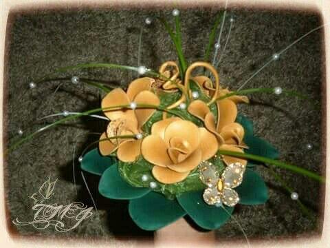 Balloon fantasy flower bouquet for 30th birthday by TMJcreative. Különleges lufi virág csokor 30. szülinapra.