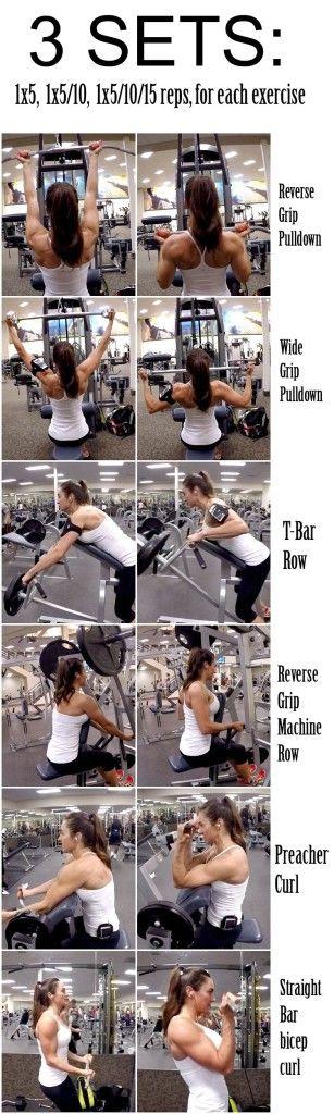 28 Days 2 Shred Day 1: Back & Biceps