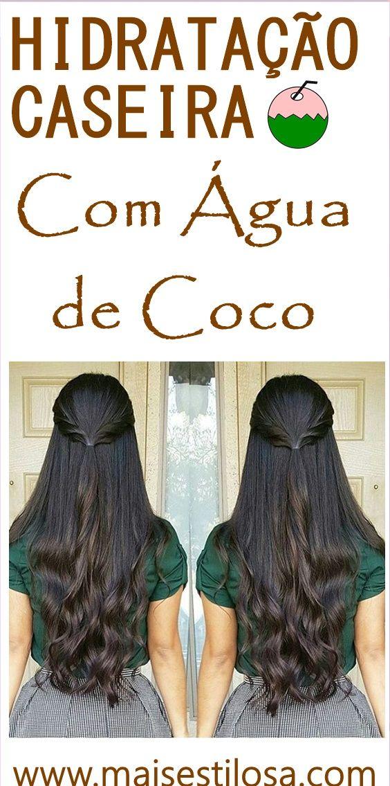Super Hidratação Caseira com Água de Coco, aprenda como fazer e todo o passo a passo dessa receita caseira maravilhosa com coco!