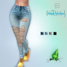 Jeans and shirts at Brolyhd • Sims 4 Updates