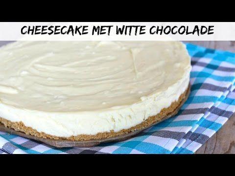 Cheesecake met witte chocolade - Lekker en Simpel