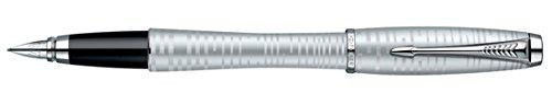 Parker Urban Vacumatic Silver-Blue Pearl Medium Point Fountain Pen