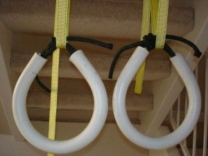 Build your own homemade gymnastic rings in 3 steps. Bodyweight Training Arena