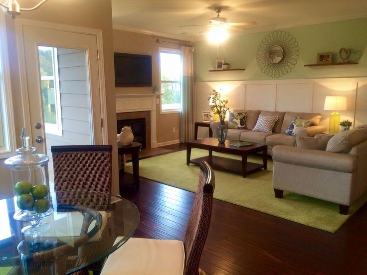Dr horton model home furniture