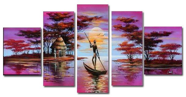 """Картина с раздела """"Африка"""". Масло, холст, ручная работа.  A painting of """"Africa."""" Oil on canvas, handmade."""