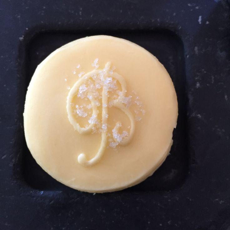 Even the butter was gorgeous at two-starred Michelin restaurant L'Oustau de Baumanière in Les Baux-de-Provence.