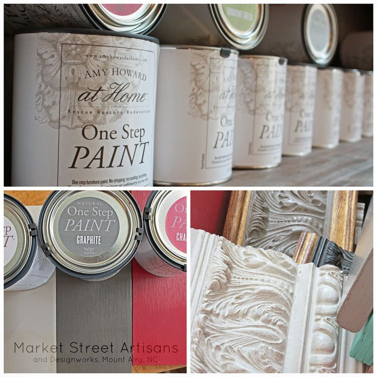 Here is a current chart of all Amy Howard One Step paint colors available in our store.