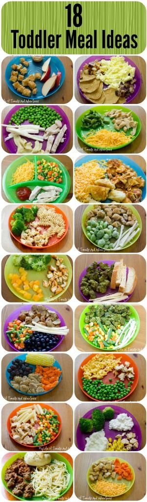 18 Simple Toddler Meal Ideas