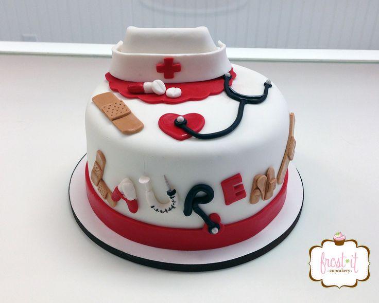 Cake Decoration Nurse : 1000+ images about nurse/doctor cakes on Pinterest