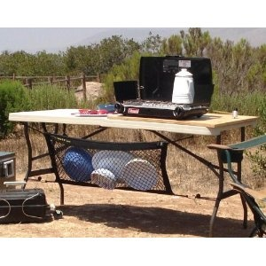 Hanging Camp Organizer by UtiliMate  (too expensive-maybe we can copy it)