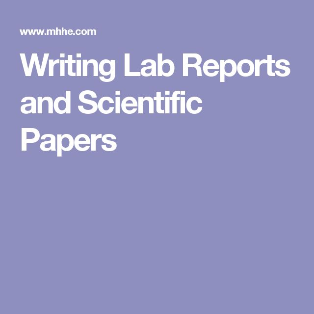The  Best Writing Lab Ideas On   Scientific Writing