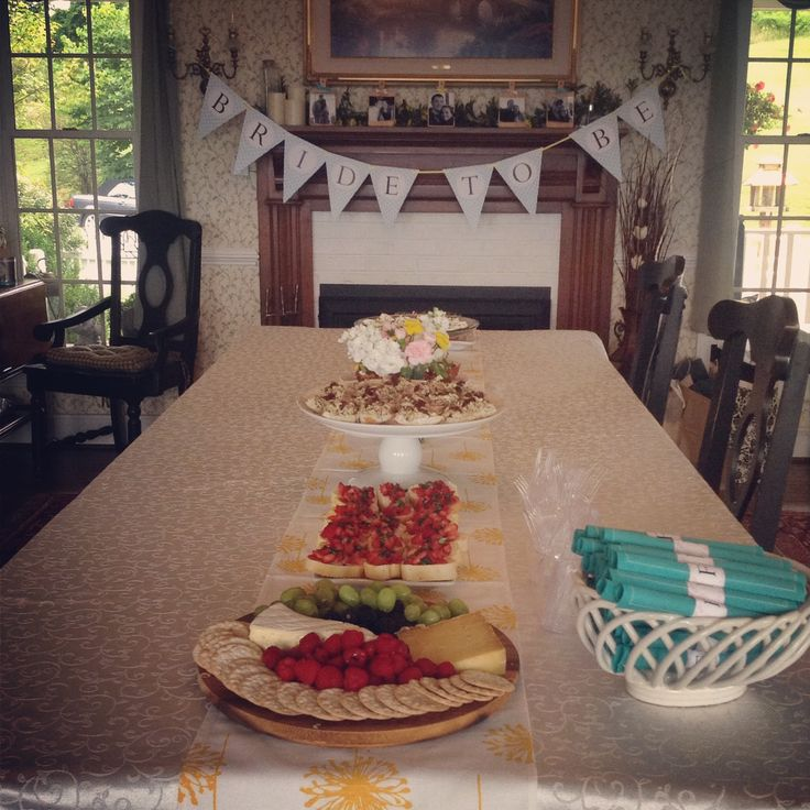 Decorating Ideas > Kitchen Themed Bridal Shower  Food Table  Personal  ~ 162058_Kitchen Themed Shower Ideas