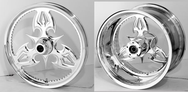 RC Components Forged Wheels, Gladiator- Yamaha V-Star 1100