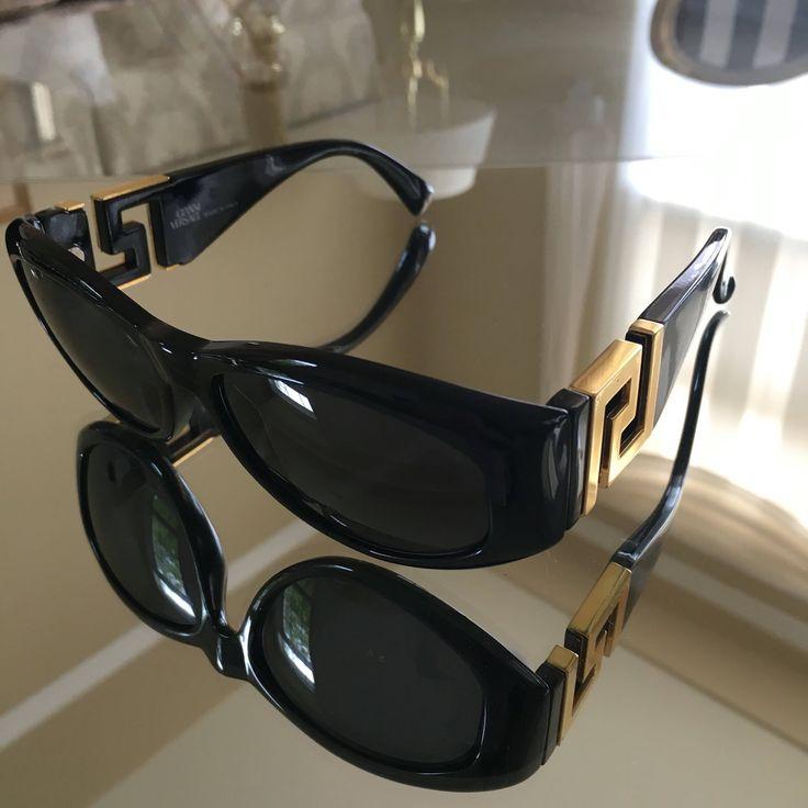 Vintage Gianni Versace Classic sunglasses by RoseAntiquesBoutique on Etsy https://www.etsy.com/listing/546552443/vintage-gianni-versace-classic