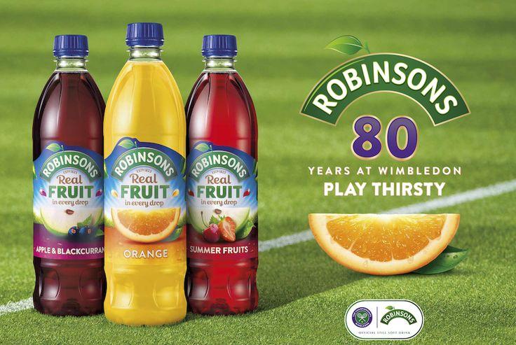 Robinsons & Wimbledon extend partnership | www.sportindustry.biz