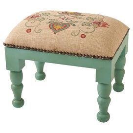 Emma Upholstered Footstool