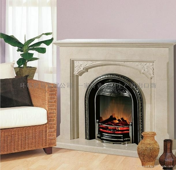 Cute Faux Fireplace