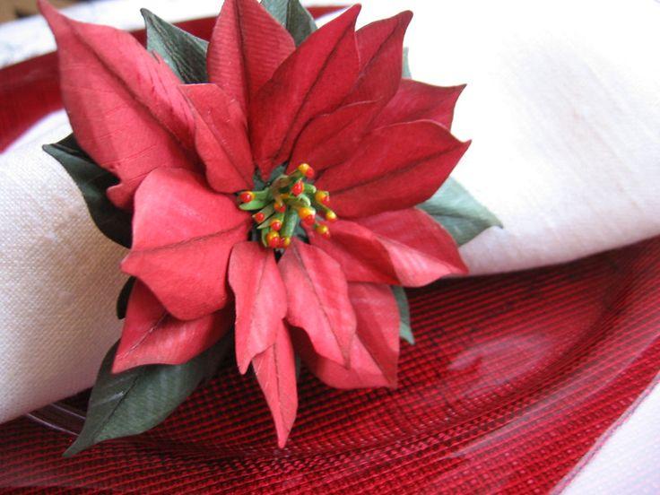 Dekoracja stołu obrączka, ring na serwetkę - Projectgallias - Dekoracje bożonarodzeniowe
