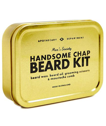 If he insists on keeping the beard, help him keep it tidy and trimmed with this grooming kit. It comes with everything he'll need for daily maintenance: beard wax, beard oil, grooming scissors, and a mustache comb. The compact shape means it's easy to bring on trips, too.