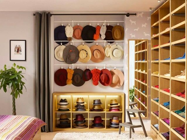17 best ideas about hat storage on pinterest hat for Baseball hat storage solutions