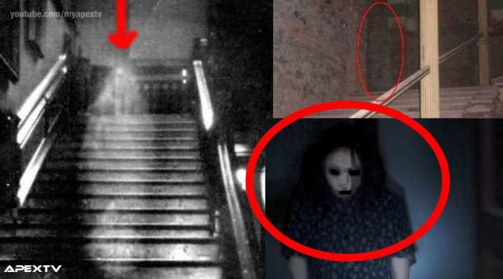 Top 10 Real Ghost Sightings Caught On Camera [Video]