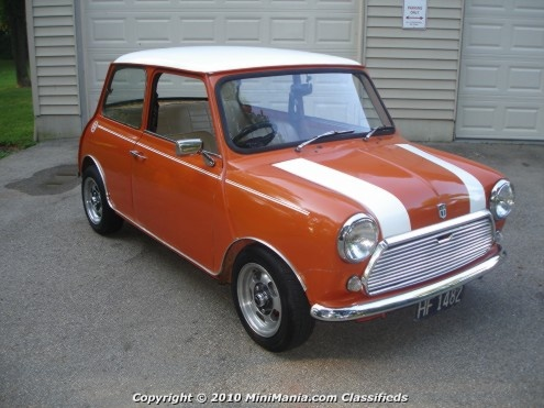 Just love old mini coopers