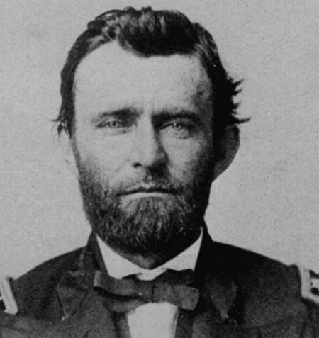 Ulysses S. Grant.  Commander of the Union army and 18th president of the United States, not to mention the face of the 50 dollar bill.