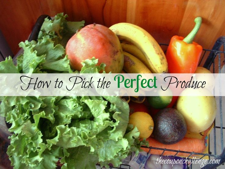 Learn How To Pick the Perfect Produce: Food Wasting, Wasting Food, Food Knowledge, 15 Fruit, Freezers, Fruit And Veggies, Eye Health, Prevent Food, Shops Healthy