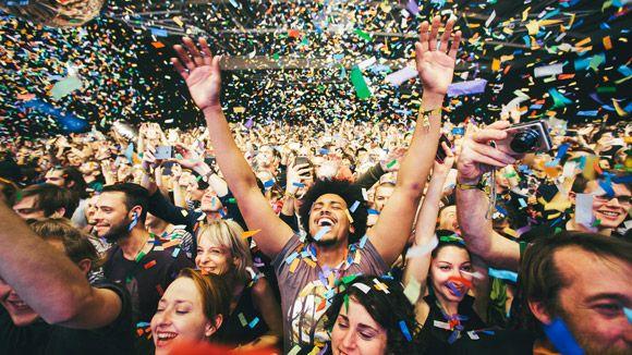 .... The annual Iceland Airwaves music festival .....