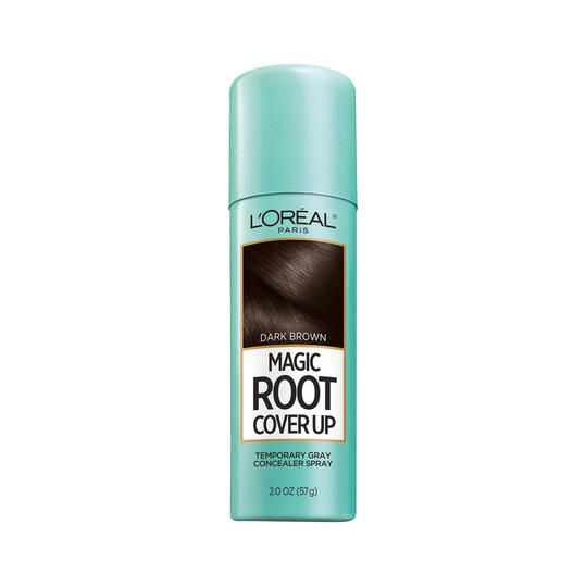 L'Oréal Paris Root Cover Up | Hiding your roots has never been easier. There's nothing that ruins a good hair day faster than realizing your roots are showing. Whether it's a few silver strands near the temples or a mousy brown peeking out from behind your highlights, your God given hair color always seems to show up unannounced no matter how often you frequent the salon. Luckily, there are ton of options to help conceal your roots between color appointments. These temporary touch-up…