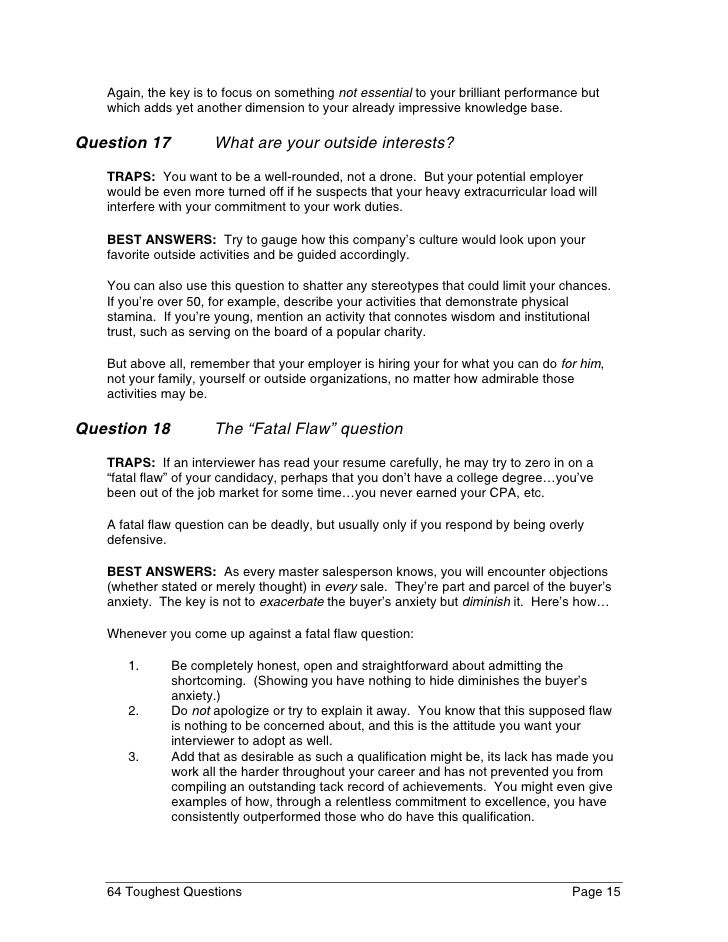 39 best images about interview on Pinterest Interview questions - best interview answers