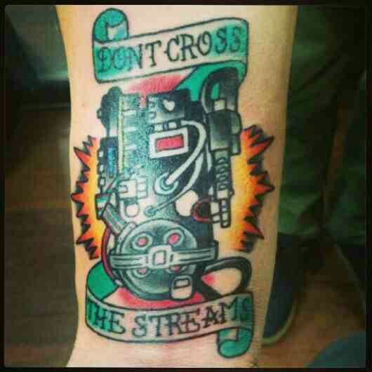 Ink tattoos designs - Ghostbusters Proton Pack Tattoo Ink D Pinterest
