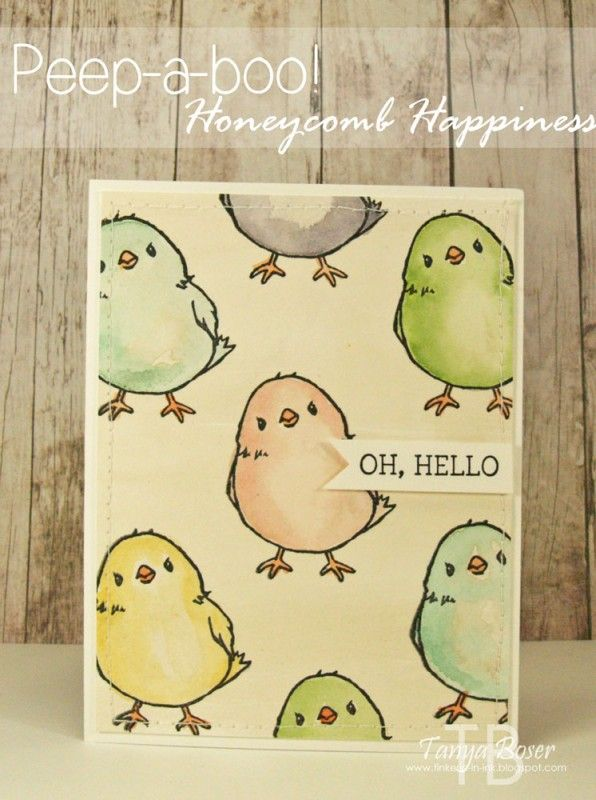 Peep-A-Boo! by tanya27 - Cards and Paper Crafts at Splitcoaststampers